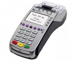 Банковский стационарный POS-терминал VERIFONE VX520 Eth/dial up /GSM/GPRS (с поддержкой бесконтактны_0