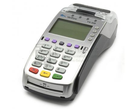 банковский стационарный pos-терминал verifone vx520 eth/dial up /gsm/gprs (с поддержкой бесконтактны