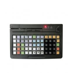 Программируемая клавиатура АТОЛ KB-60-KU (rev.2) черная c ридером магнитных карт на 1-3 дорожки_0