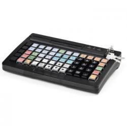 Программируемая клавиатура АТОЛ KB-60-KU (rev.2) черная c ридером магнитных карт на 1-3 дорожки_1