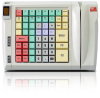 POS-клавиатура POSUA LPOS-II-064 M2 USB с ридером_0