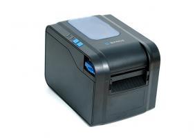 Принтер этикеток SPACE X-32DT (термо, 203 dpi, USB, RS232, Ethernet, с отделителем, черный)_0