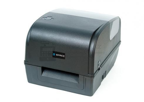 принтер этикеток space x-42tt (термотрансферный, 203 dpi, usb, ethernet, черный)