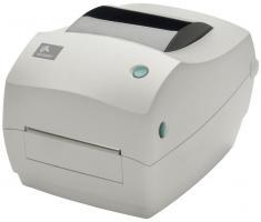 Принтер этикеток Zebra GC420t (RS232, USB, LPT, Отделитель, белый) арт. 23709_1