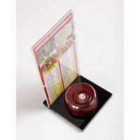Кнопка вызова официанта iBells YK500-1F, красно-коричневая арт. 5071_1