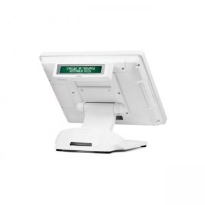 дисплей покупателя posiflex pd-350ue-b (usb, бежевый, монтируемый, универсальный)