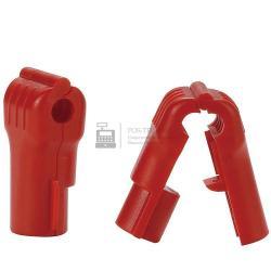 Пломба--фиксатор товаров на крючках TOP Security Hook Stop Lock E-S6, D:6мм, черн  арт. 4735_1