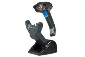 Сканер штрихкода (черный, ручной, линейный имидж, 433MHz радио) Gryphon GM4130, зарядно-коммуникацио_0