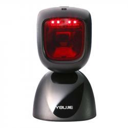 Youjie (Юджи) HF600, проводной настольный презентационный 2D сканер штрихкода, в комплекте с кабелем_0