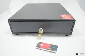 Денежный ящик АТОЛ SB-330-B черный, 330*380*90, механический_0
