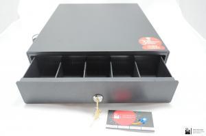 Денежный ящик АТОЛ SB-330-B черный, 330*380*90, механический_2