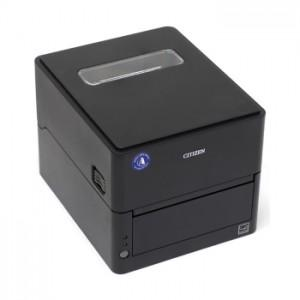 Принтер Citizen CL-E303 Printer 300 dpi, POS Cutter, LAN, USB, Serial, Black, EN Plug