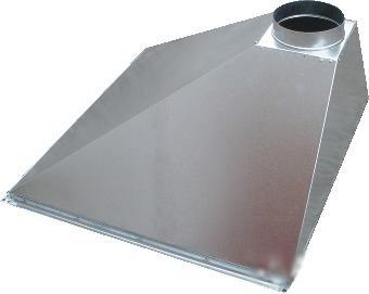 зонт вентиляционный пристенный 70х100
