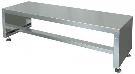 подставка для кухонного инвентаря пки-0,6/0,6/0,4 (нержавейка)