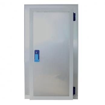 дверной блок с распашной дверью для холодильной камеры 1200х2120