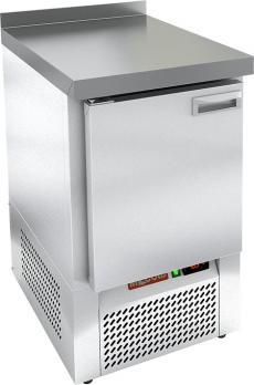 стол морозильный с полимерным покрытием hicold gne 1/bt w